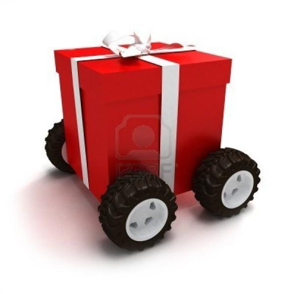 Доставка подарков по всему м